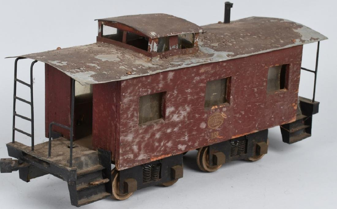 NYC LINE #158 SCRATCH BUILT CABOOSE - 5