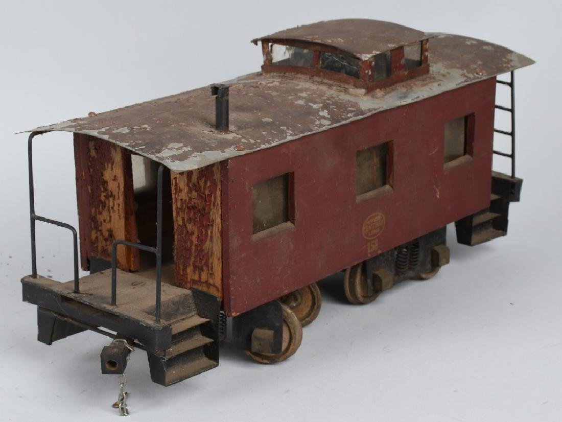 NYC LINE #158 SCRATCH BUILT CABOOSE - 6