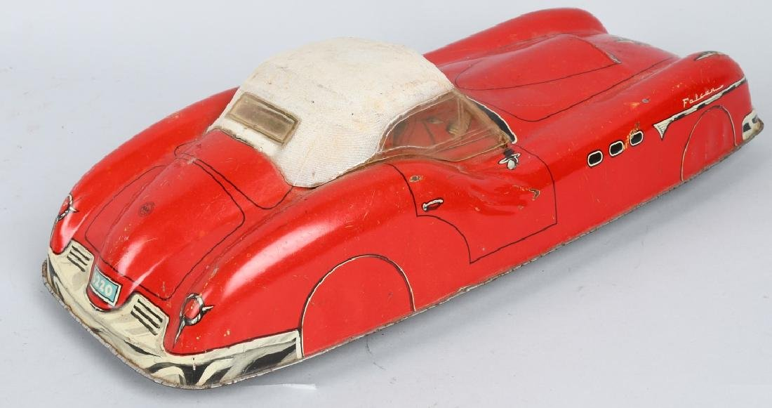 MARX Tin Friction FALCON FUTURISTIC CAR - 3