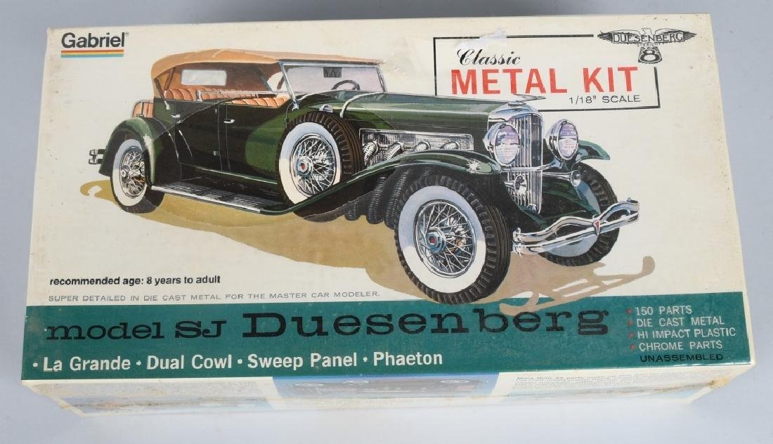 HUBLEY SJ DUESENBERG MODEL KIT MIB