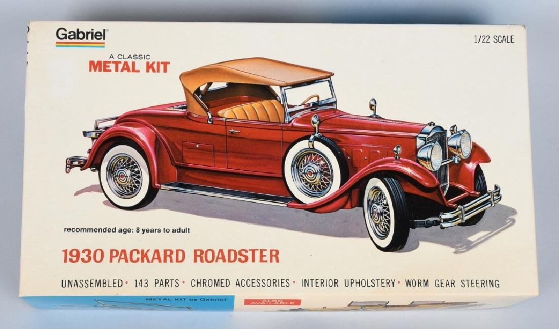 HUBLEY 1930 PACKARD ROADSTER MODEL KIT MIB
