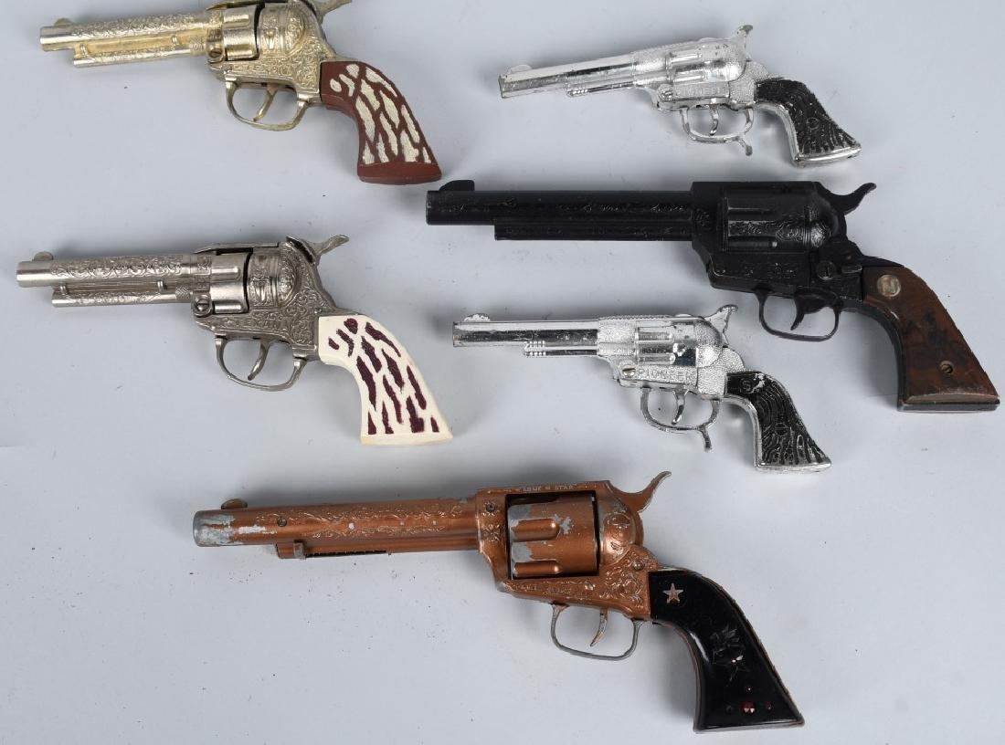6- VINTAGE CAP GUNS