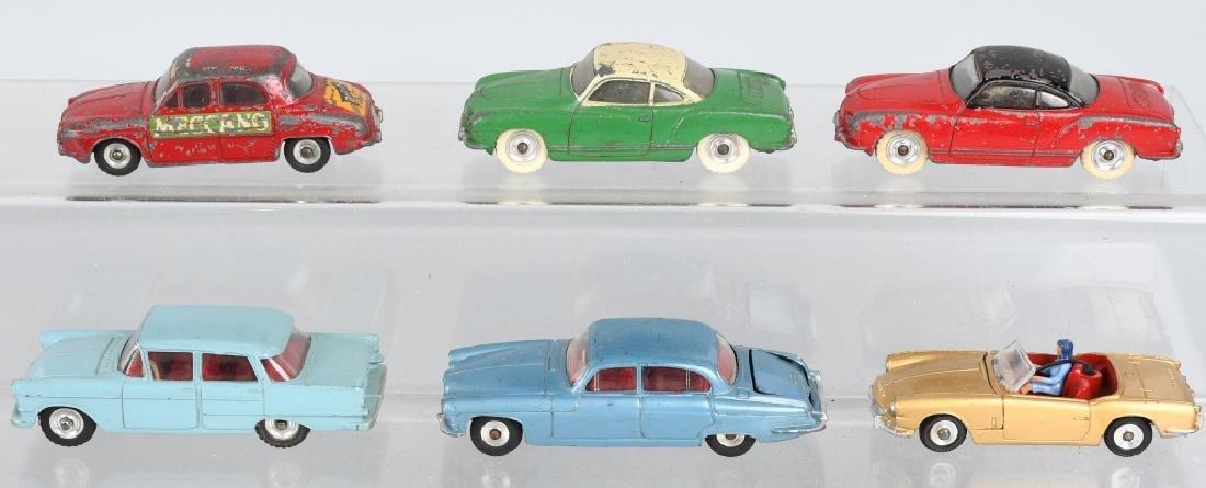 6- VINTAGE DINKY TOYS CAR