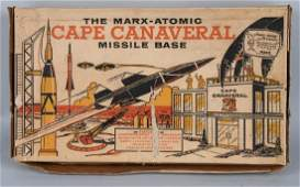 MARX 4528 ATOMIC CAPE CANAVERAL PLAYSET w BOX