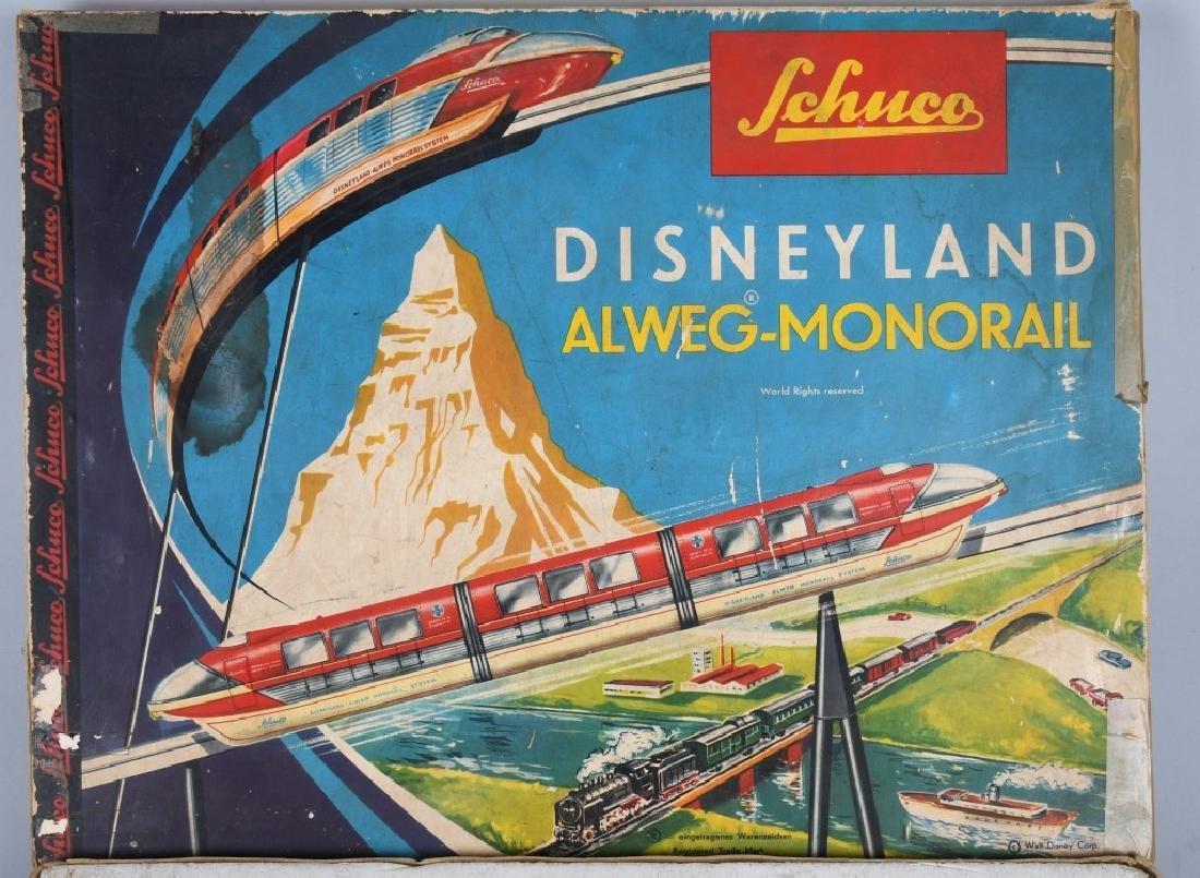SCHUCO DISNEYLAND ALWEG-MONORAIL w/ BOX - 6