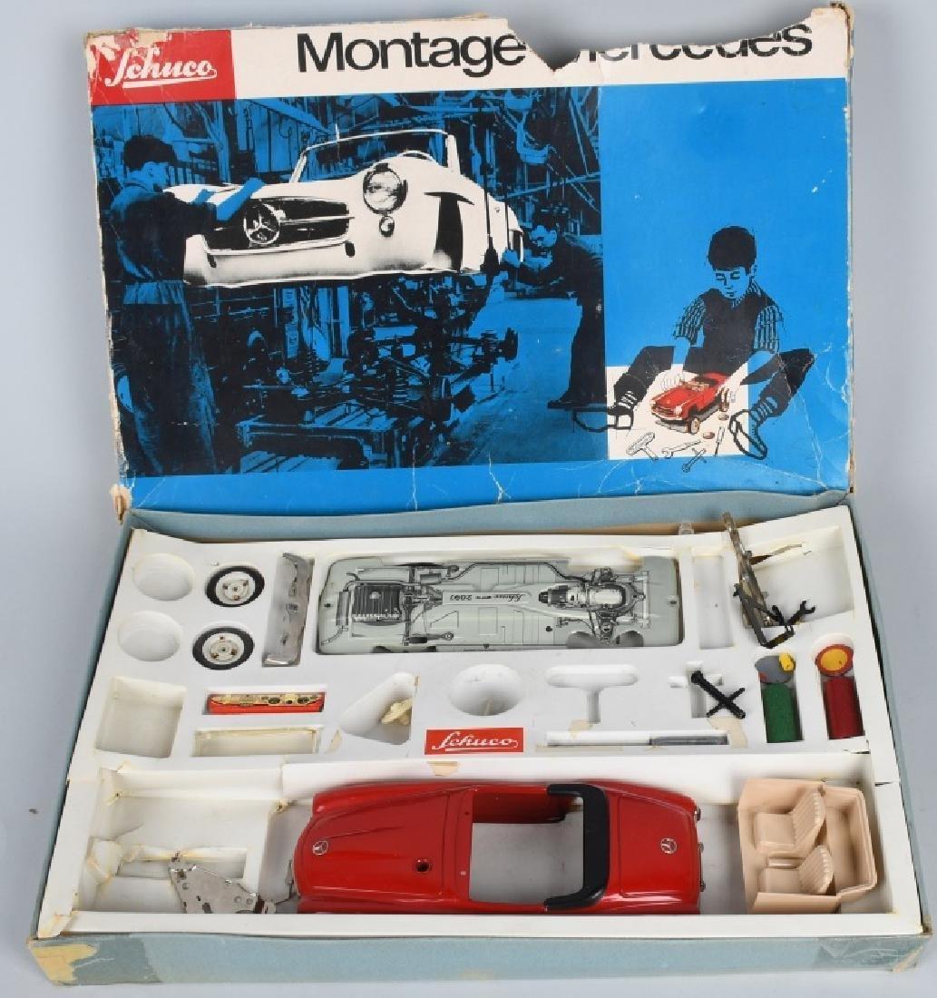 SCHUCO #2097 MONTAGE MERCEDES 190SL w/ BOX