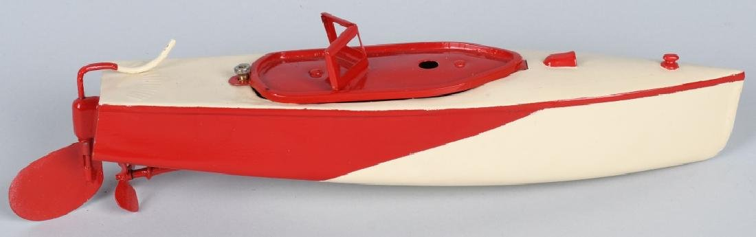 DUX Tin Windup SPEED BOAT - 3
