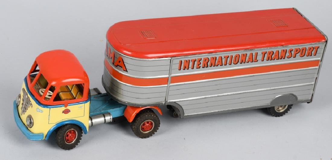 GAMA Tin Friction INTERNATIONAL TRANSPORT TRUCK