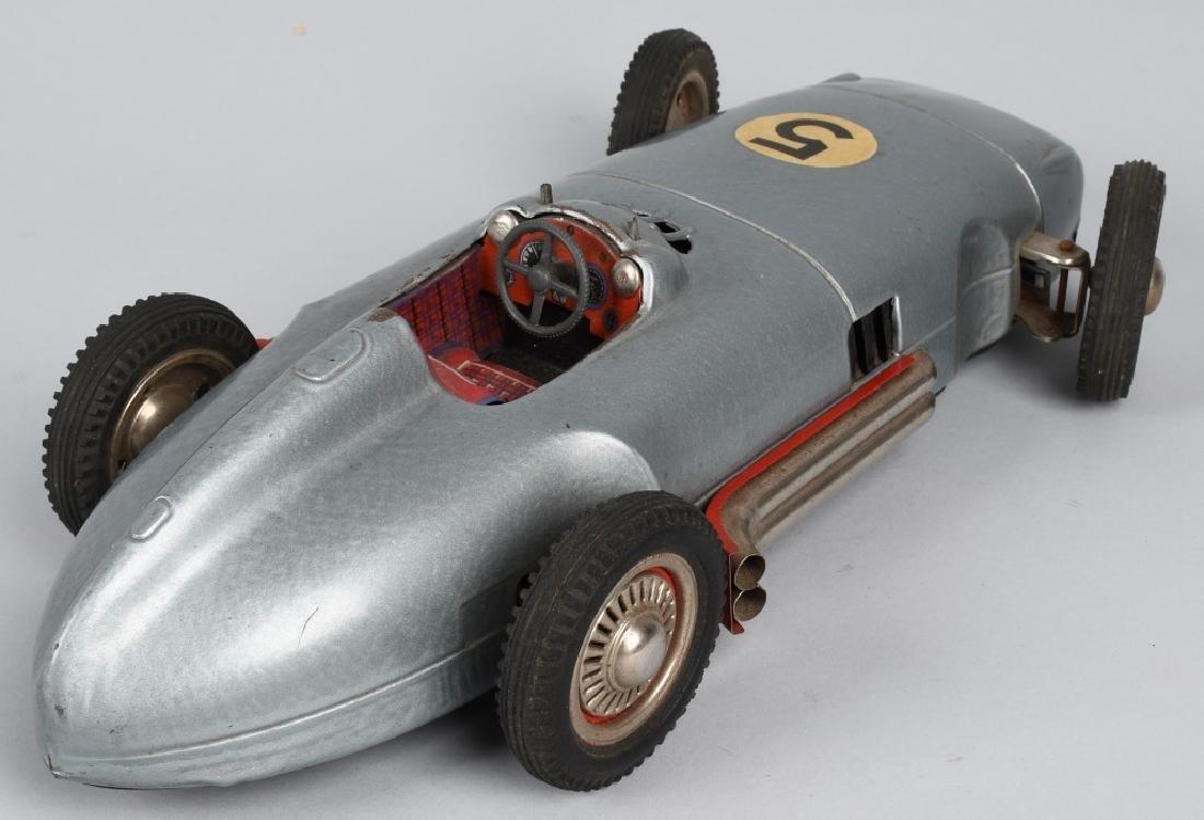 "13"" NF Tin Friction MERCEDES BENZ RACE CAR - 3"