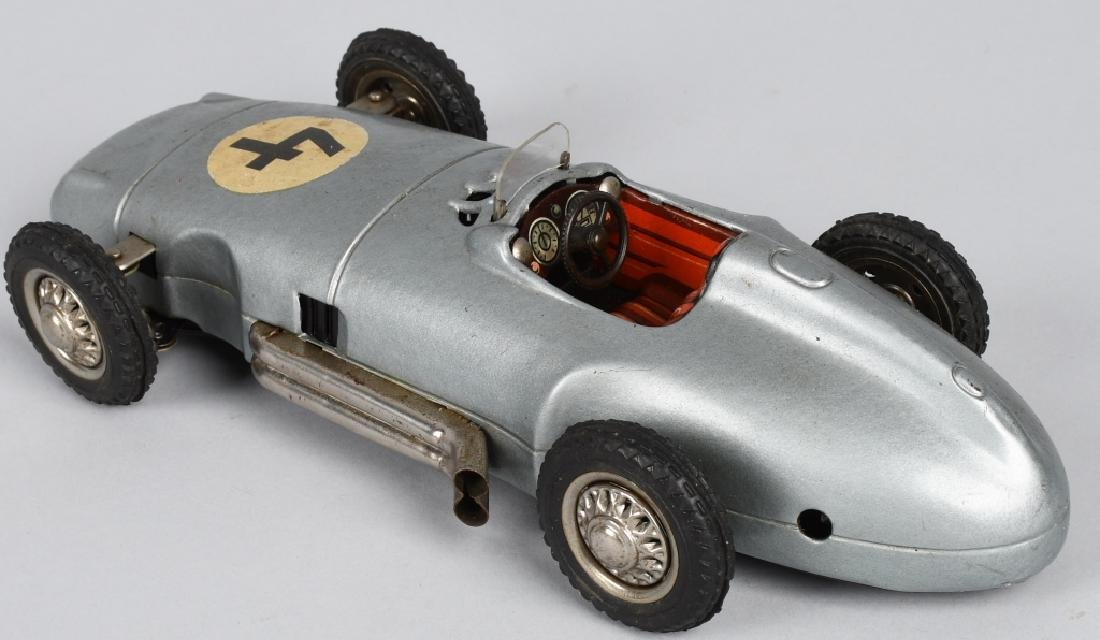 "10"" NF Tin Friction MERCEDES BENZ RACE CAR - 2"