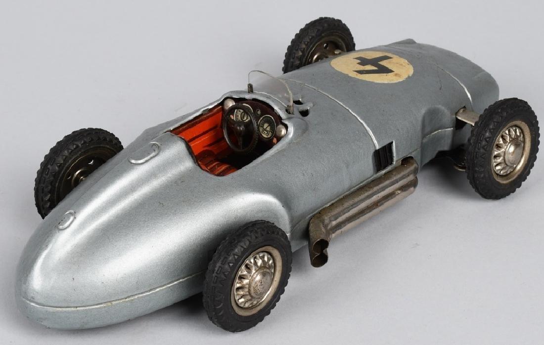 "10"" NF Tin Friction MERCEDES BENZ RACE CAR - 3"