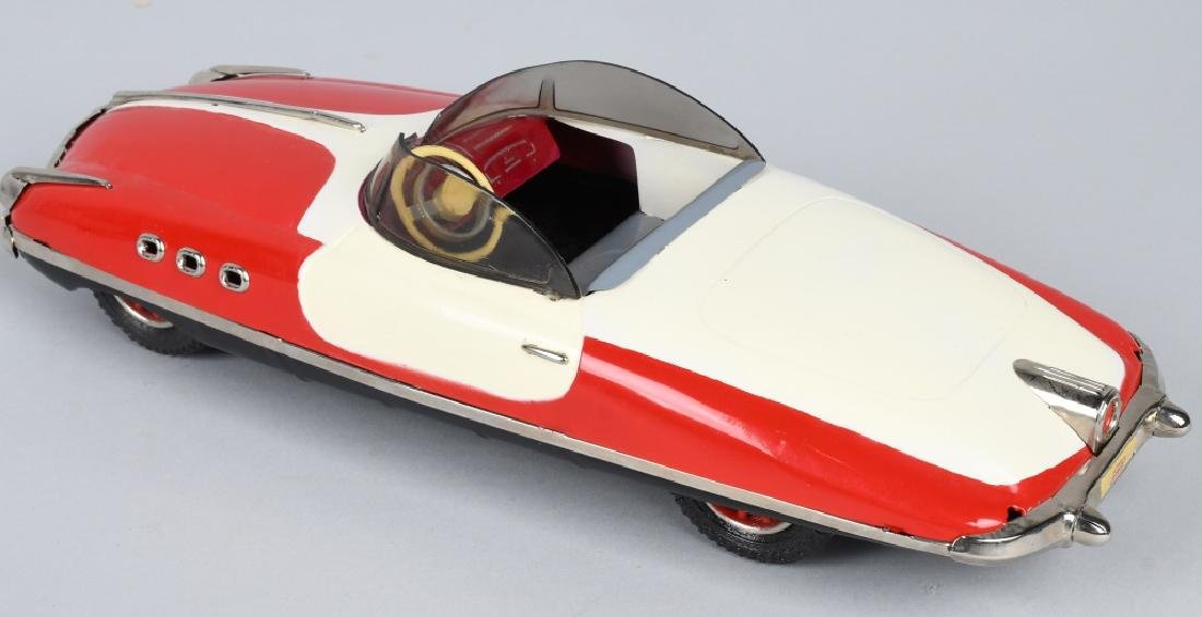 PAYA Tin Friction FUTURISTIC CONVERTIBLE CAR - 2