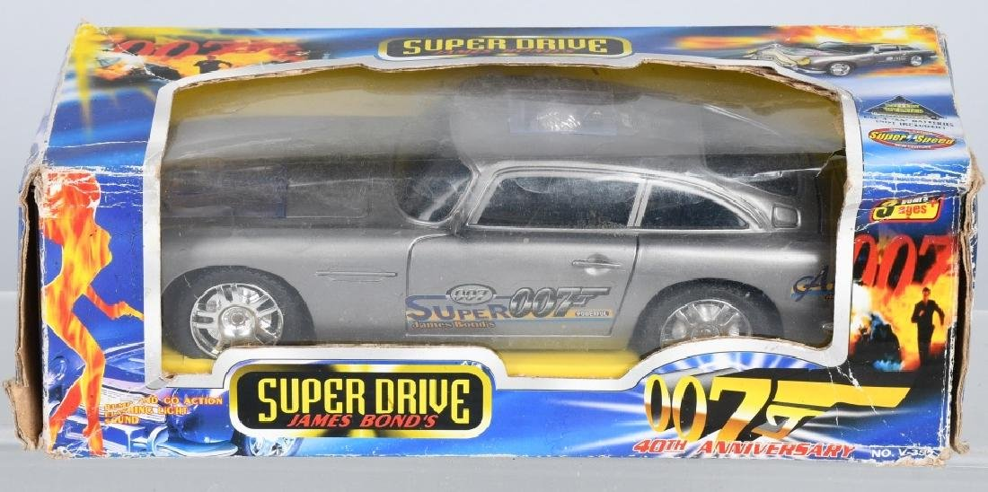 SUPER DRIVE JAMES BOND CAR w/ BOX