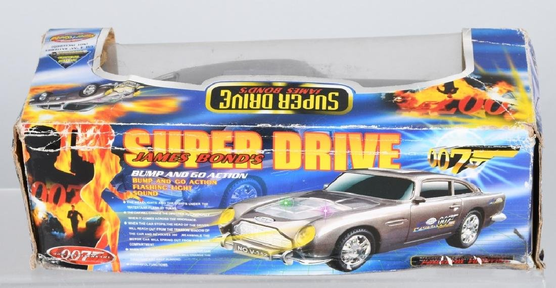 SUPER DRIVE JAMES BOND CAR w/ BOX - 6