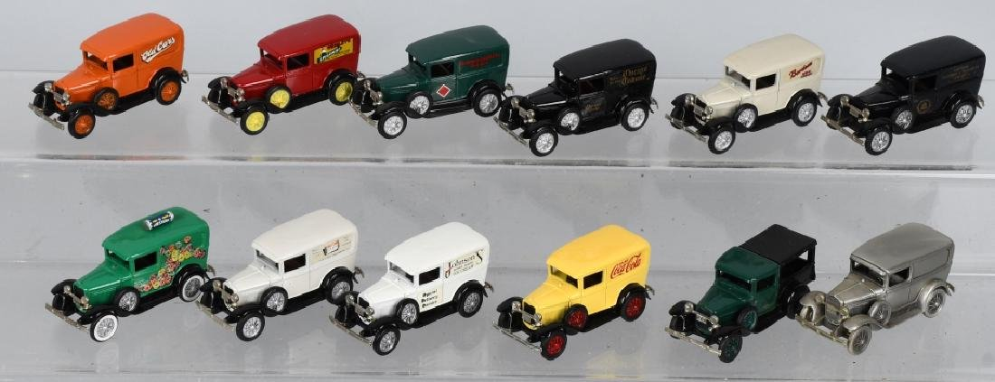 12- NOSTALGIA MINIATURES Pewter MODEL A DELIVERY