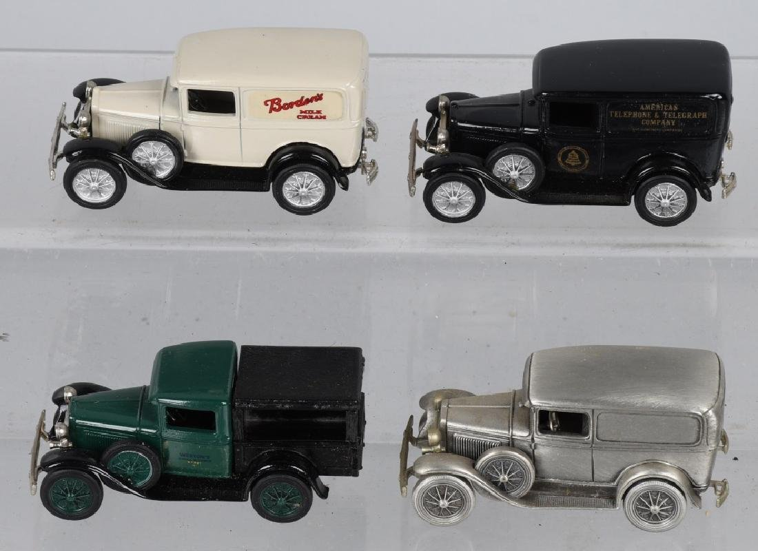 12- NOSTALGIA MINIATURES Pewter MODEL A DELIVERY - 4
