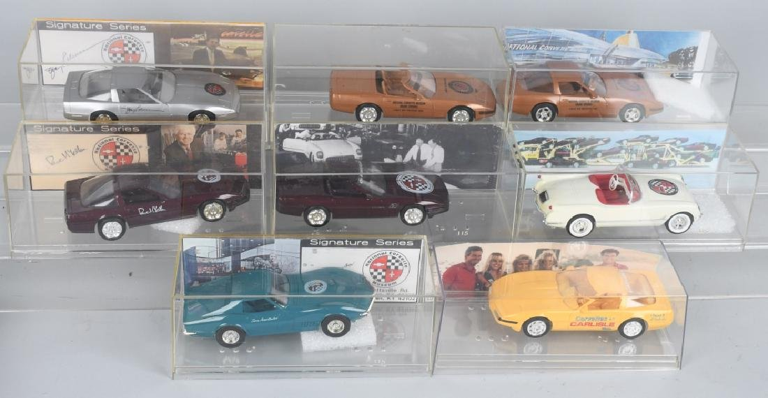 8- SIGNATURE SERIES CORVETTE PROMO CARS