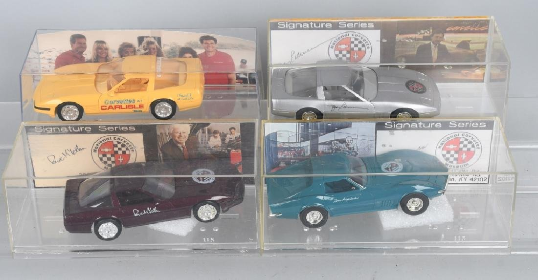 8- SIGNATURE SERIES CORVETTE PROMO CARS - 3