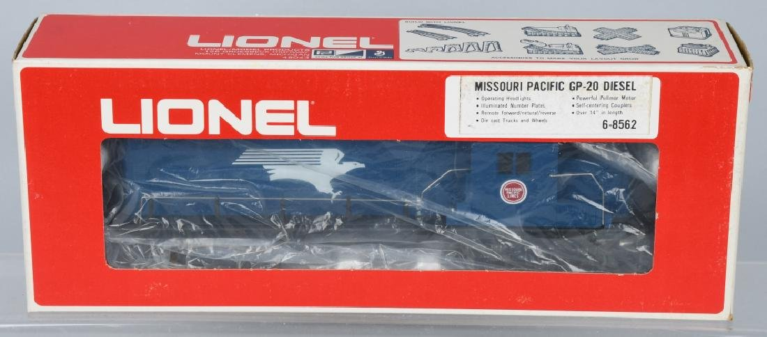 LIONEL MISSOURI PACIFIC ENGINE, 8562, 8565 - 2