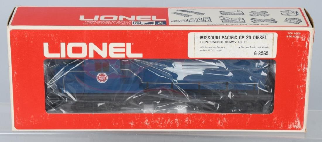 LIONEL MISSOURI PACIFIC ENGINE, 8562, 8565 - 3