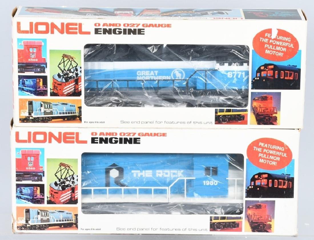2-LIONEL DIESEL ENGINES, No. 8068 & 8771
