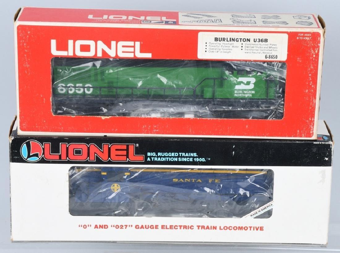 2-LIONEL DIESEL ENGINES, No. 8650 & 18803