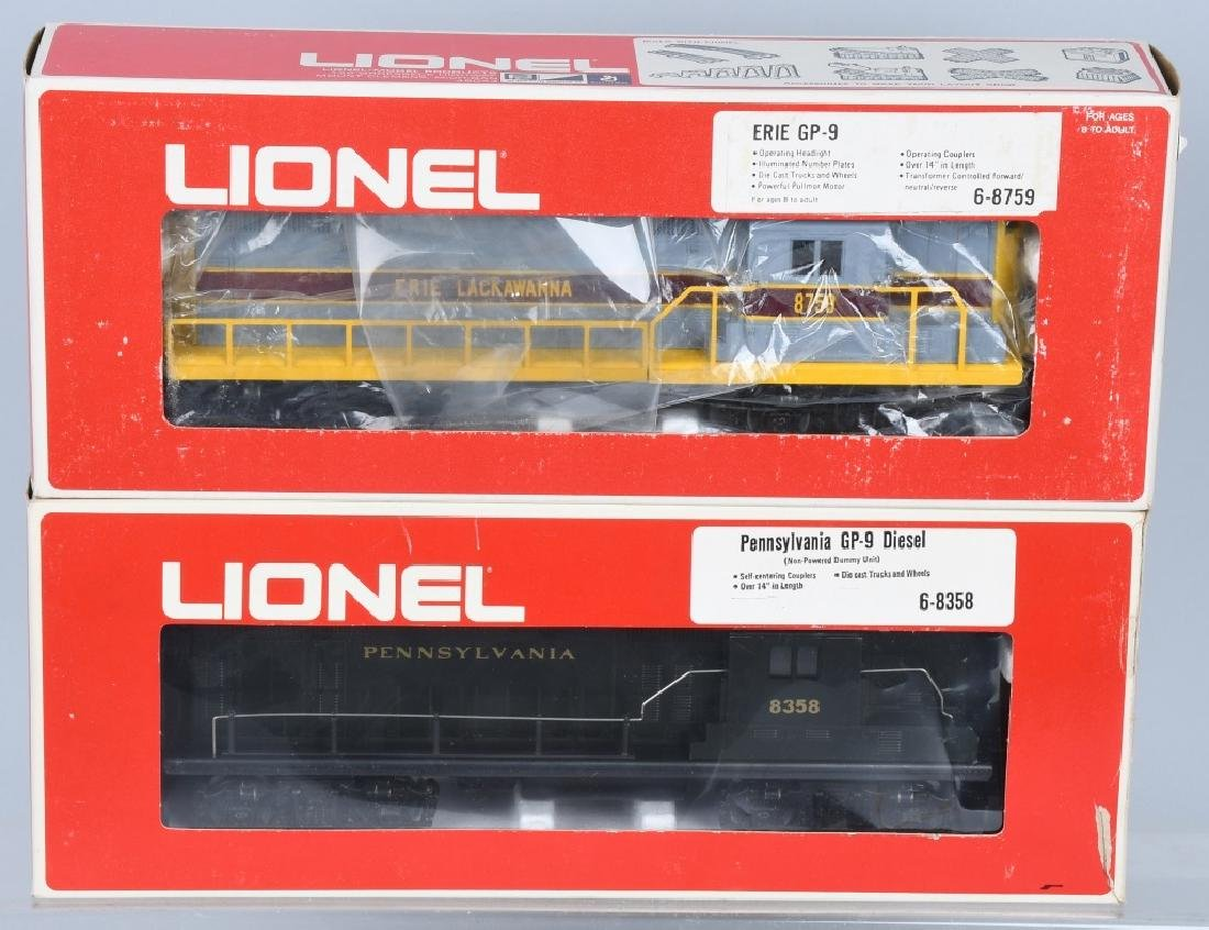 2-LIONEL DIESEL ENGINES, No.8358 & 8759
