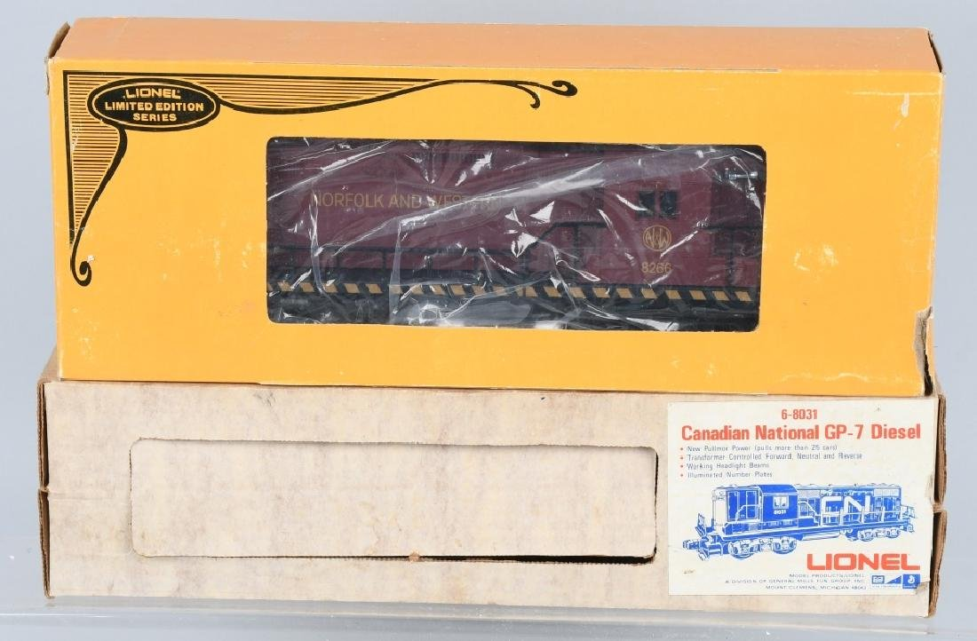 2-LIONEL DIESEL ENGINES, No. 8031 & 8266