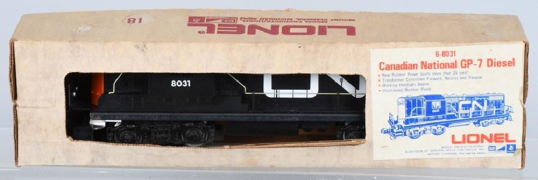 2-LIONEL DIESEL ENGINES, No. 8031 & 8266 - 3