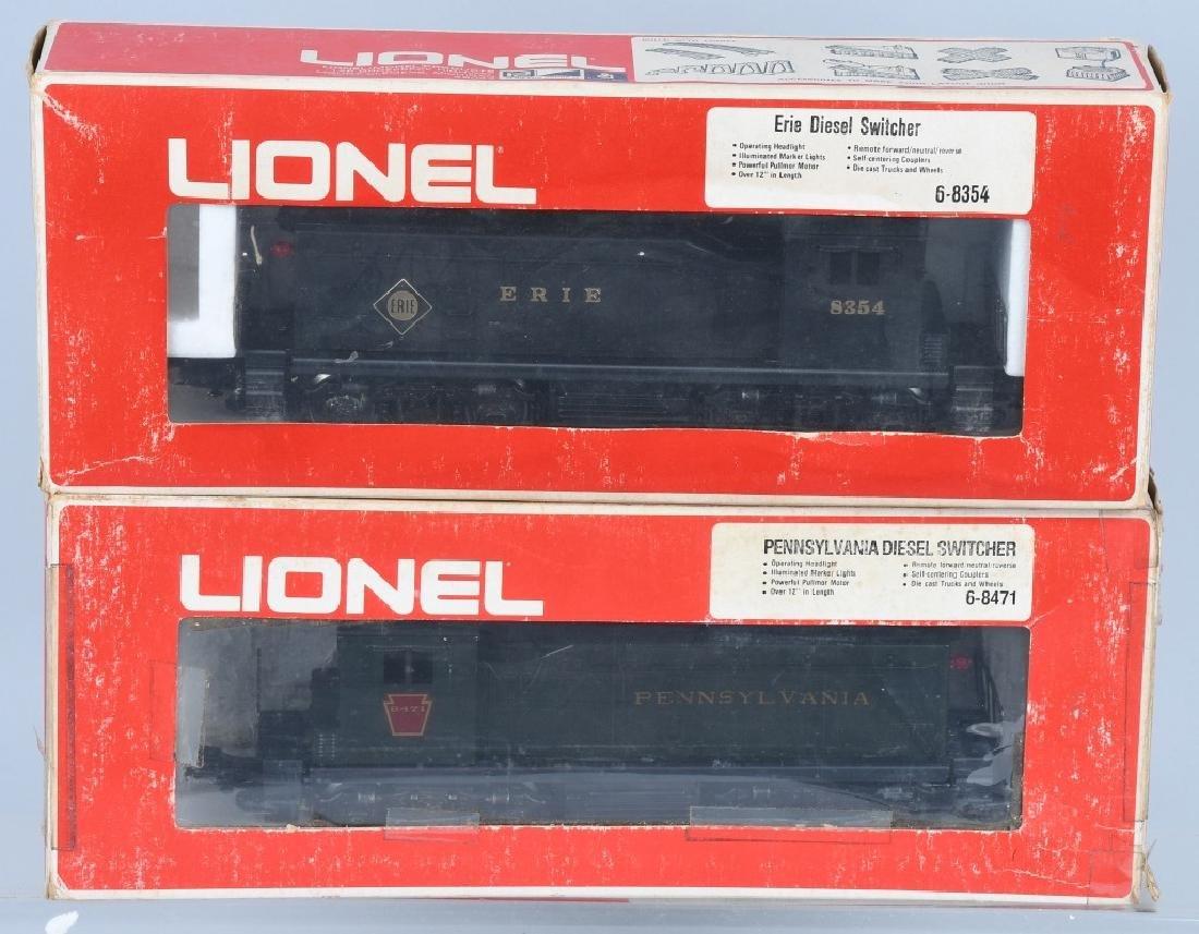 2-LIONEL DIESEL SWITCHER ENGINES, No. 8354 & 8471