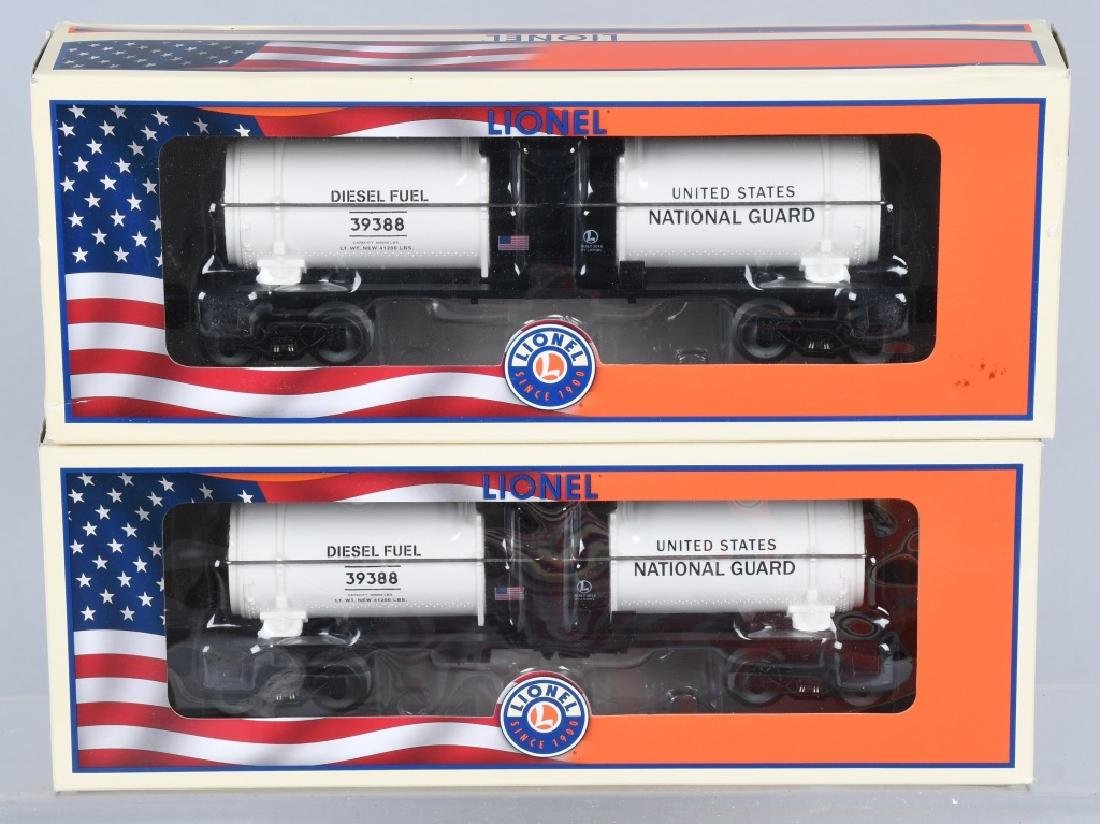 3-LIONEL MILITARY CARS BOXED - 2