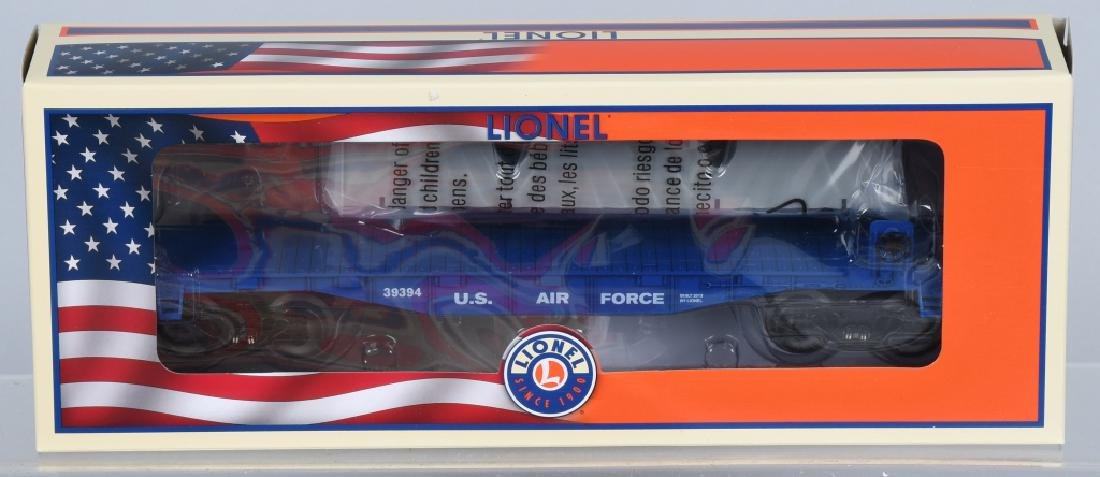 3-LIONEL MILITARY CARS BOXED - 3