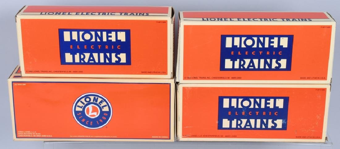 4-LIONEL MILITARY CARS BOXED - 5