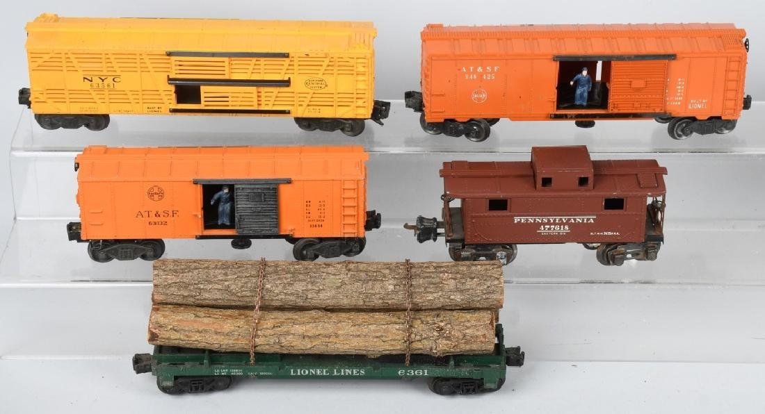 10-LIONEL O GAUGE ROLLING STOCK - 2