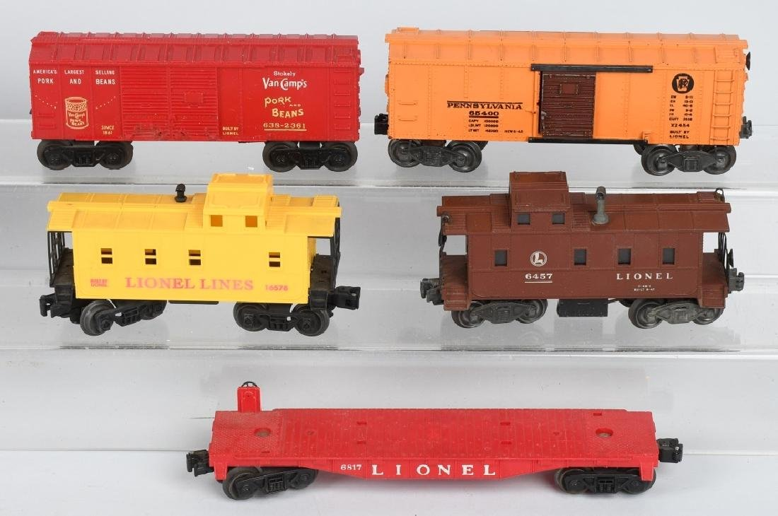 10-LIONEL O GAUGE ROLLING STOCK - 3