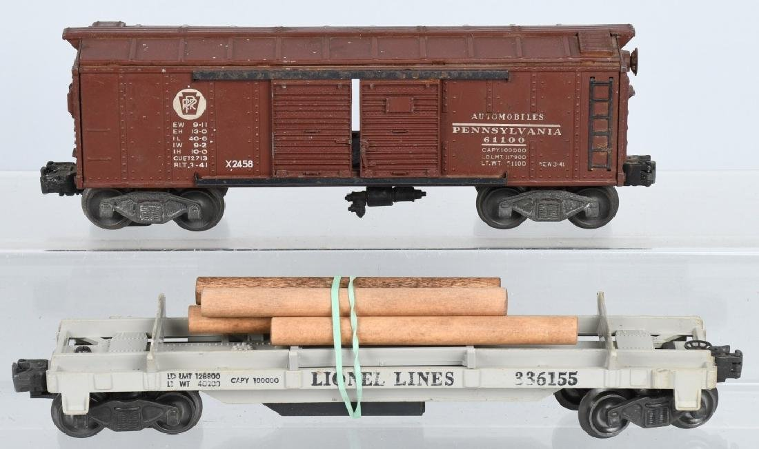 4-LIONEL O GAUGE ROLLING STOCK - 2