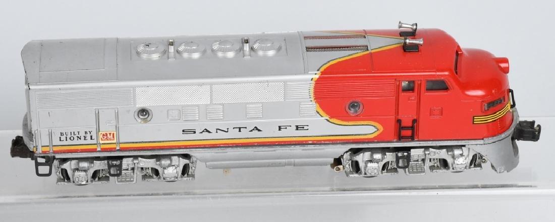 LIONEL SANTA FE, NO 2343P. 2343T & 2343C, BOXED - 3