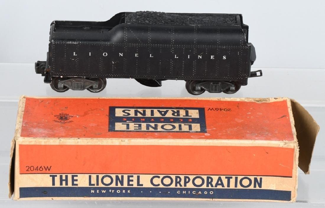 LIONEL No. 736 ENGINE & 2046W TENDER - 5