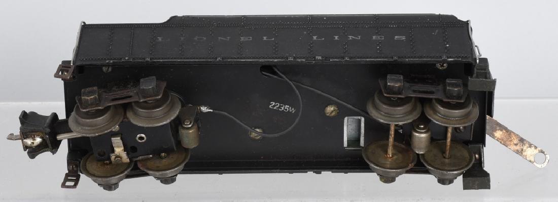 LIONEL No. 225E & 2235W TENDER - 7