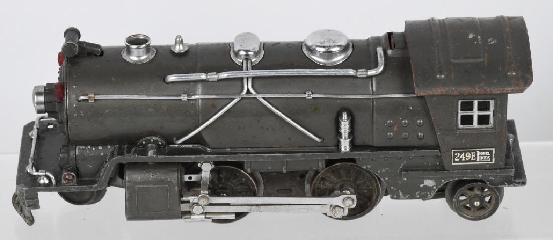 LIONEL No.249E ENGINE & 265W TENDER - 2