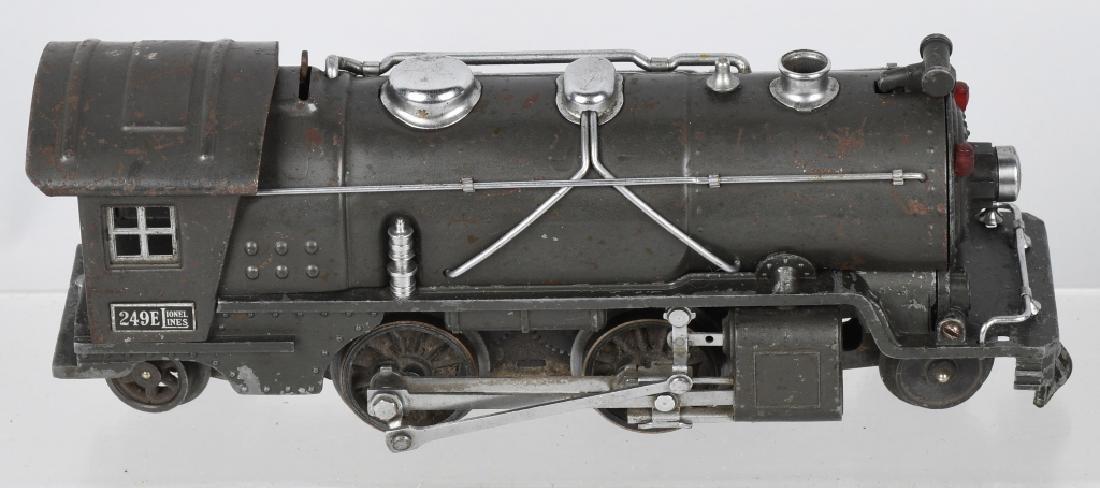 LIONEL No.249E ENGINE & 265W TENDER - 3