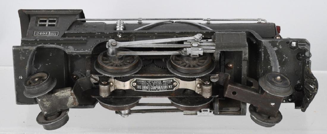 LIONEL No.249E ENGINE & 265W TENDER - 4