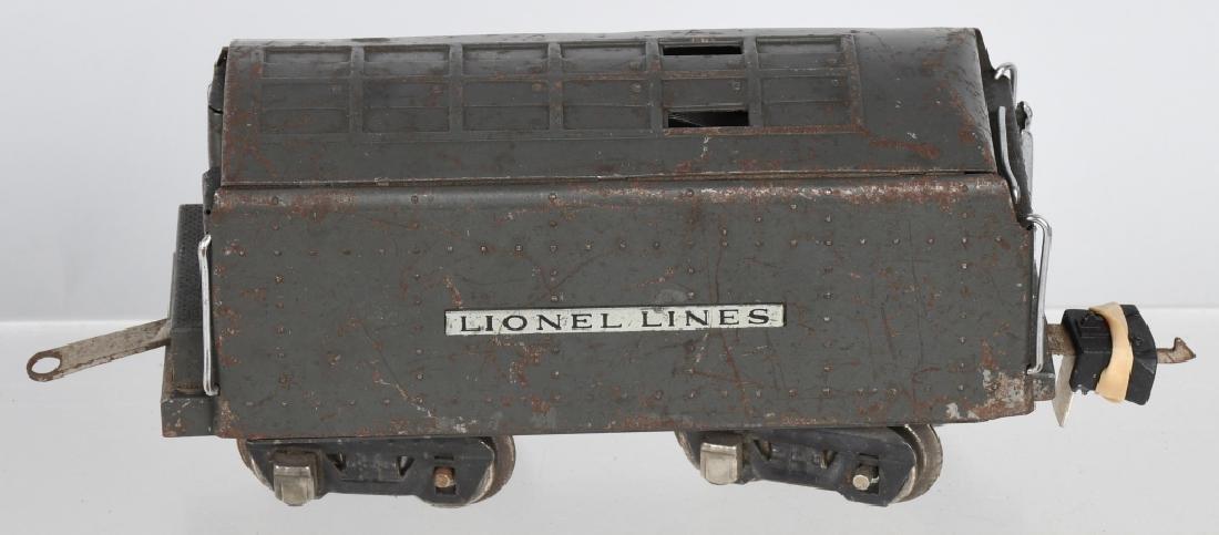 LIONEL No.249E ENGINE & 265W TENDER - 5