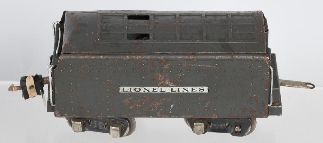 LIONEL No.249E ENGINE & 265W TENDER - 6