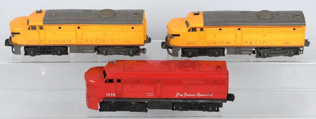 LIONEL UNION PACIFIC No. 2023, & 1055 ENGINES