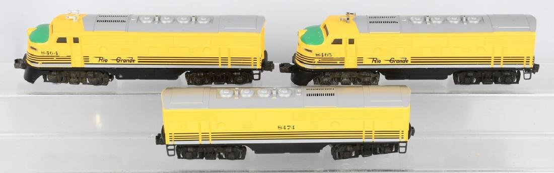 LIONEL RIO GRANDE NO. 8464, 8465, & 8474 ENGINE