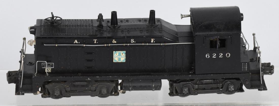 LIONEL SANTA FE No. 6220, SWITCHER ENGINE