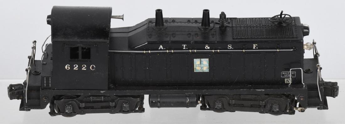 LIONEL SANTA FE No. 6220, SWITCHER ENGINE - 2
