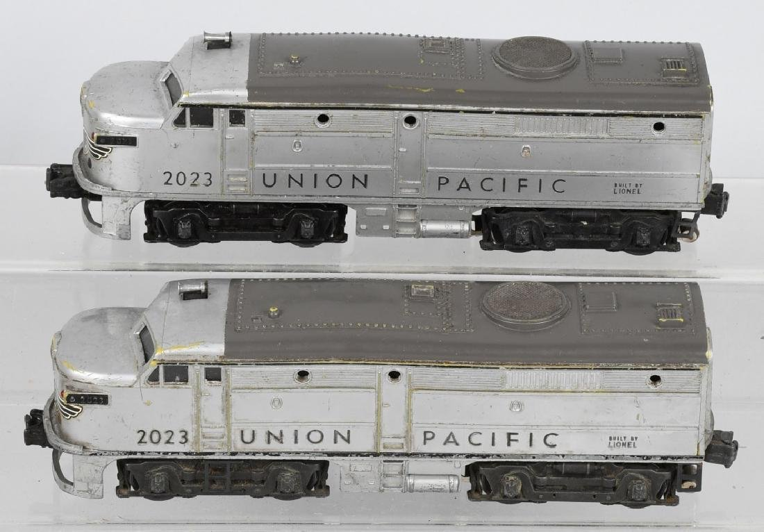 LIONEL UNION PACIFIC No. 2023 ENGINE & DUMMY