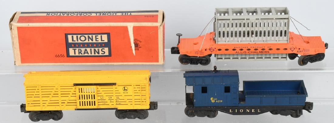 6-LIONEL O GAUGE ROLLING STOCK - 4